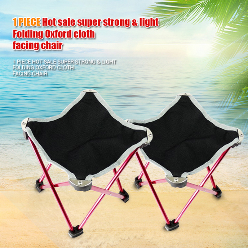 Hot sale super strong & light Folding Oxford cloth facing chair for outdoor picnic garden chair portable stool for dinner table(China (Mainland))