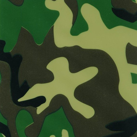 Camouflage water transfer printing films &Water Transfer Printing Hydro Graphics Film- Green Army Camo GW2939-3