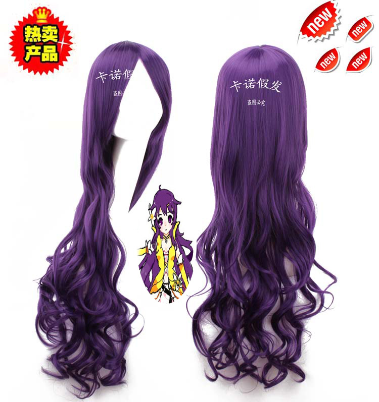 Гаджет  Wholesale Cosplay wigs clear chord vocaloid china ink Princess Tomoyo 80cm curls None Изготовление под заказ