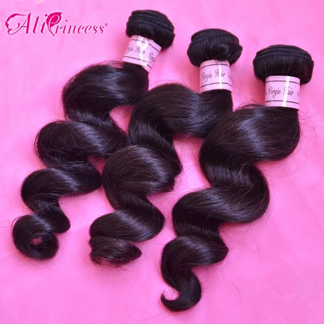 Brazilian Loose Wave Virgin Hair,Human hair,3pcs lot ,Grade 6A, 100% unprocessed virgin hair