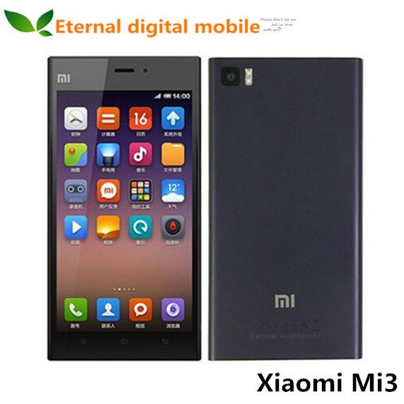Мобильный телефон Xiaomi Mi3 3 Qualcomm 2 16 ROM 5/1080p 13 WCDMA GPS MIUI 6