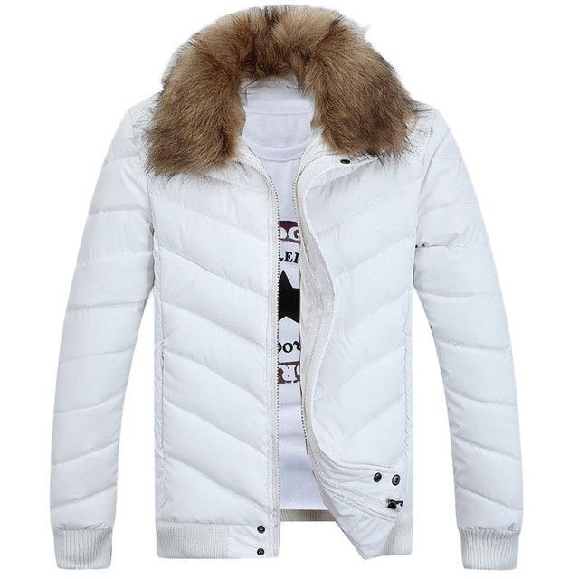 White winter jacket mens – Novelties of modern fashion photo blog