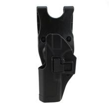Buy Tactical Glock Holster Military Concealment Left Hand Paddle Waist Belt Pistol Gun Holster Glock 17 19 22 23 31 for $17.99 in AliExpress store