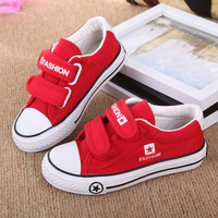 3 Colour Kids Canvas Shoes boys and girls breathable canvas shoes candy-colored children's classic casual sneakers