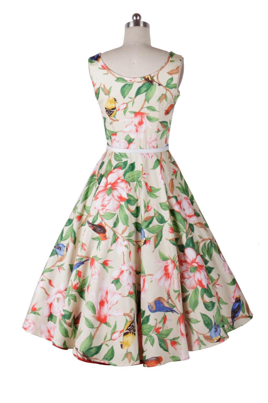 60s floral dresses