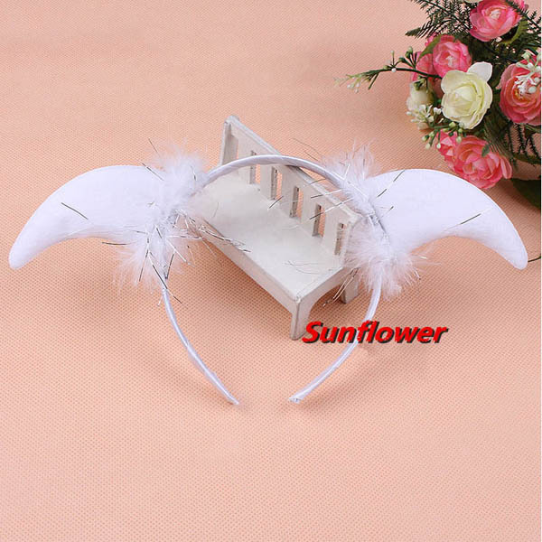 Sheep Horn Headband Fancy Dress Costume for Children Adult(China (Mainland))
