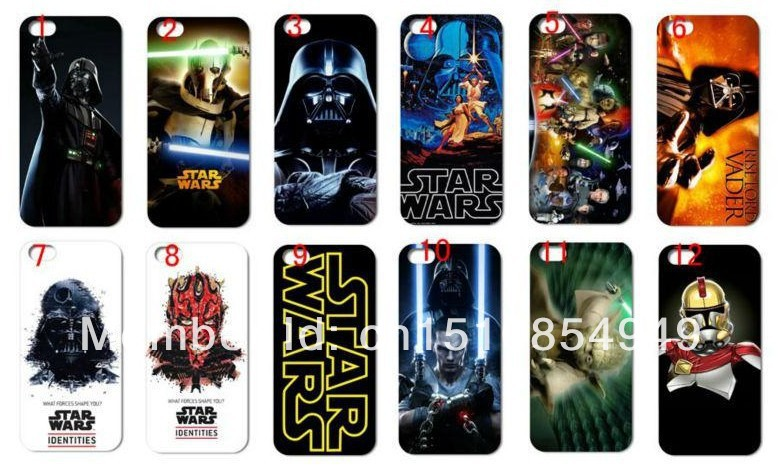 1New Designs Star Wars Phone Hard Back Case Cover Iphone 4 4G 4S + - zhengchun case store