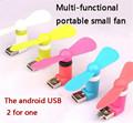 Hot New Portable OTG Mini Micro USB Large Wind Cooling Fan For Phone Desktop Laptop
