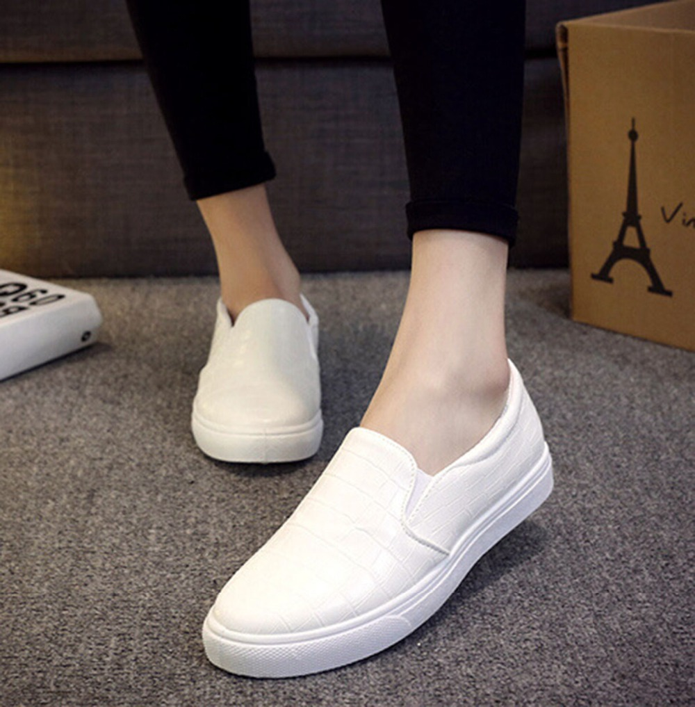 2016 summer flats loafers for shoes pu