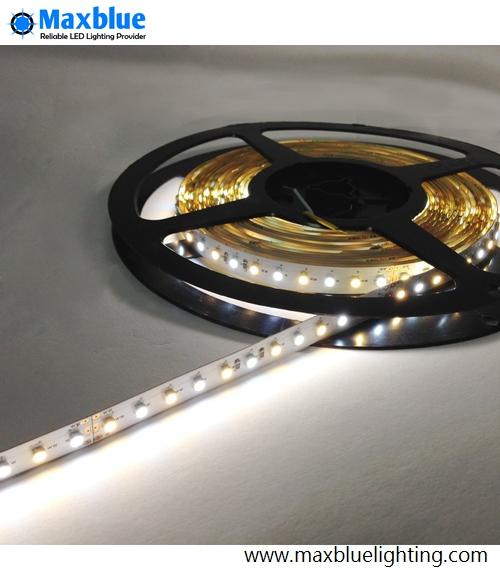 3528SMD Bicolor LED Strip Light 12VDC 5meter 600leds Warm+Daylight 3000-7000K Dual Color CCT Adjustable LED Strip Nonwaterproof(China (Mainland))