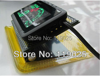 Fuel Consumption ActiSafety OBD-II Multi car head-up display HUD Universal Speed ASH-3 MPH/KMH Fuel-consumption