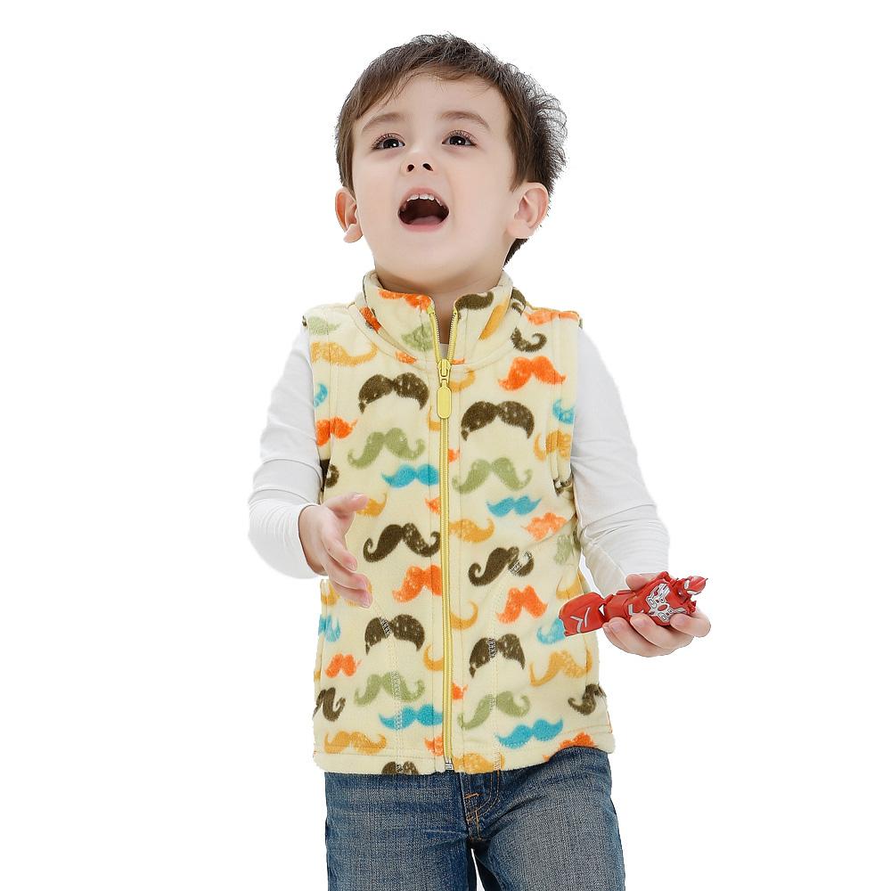 Svelte Brand Fall Autumn Winter Children Boys Stripe Fleece Vest Kids Boys' Woolen Prints Waistcoat Vetement Enfant Gilet Veste(China (Mainland))