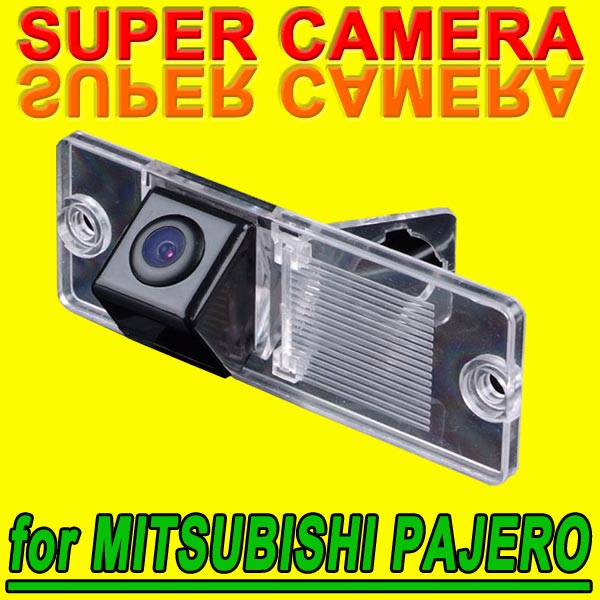 For Sony CCD Mitsubishi Pajero V3 V6 V8 Zinger Car Autoradio Rear View Parking Camera Back Up Reverse waterproof Kit for GPS(China (Mainland))
