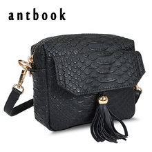 Buy Simple Alligator Crocodile Leather Mini Small Women Crossbody bag Tassel Fringed Messenger Shoulder Bag Sling Purse Handbag for $7.90 in AliExpress store