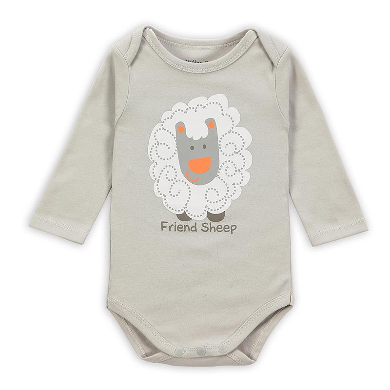 New hot long sleeve baby bodysuit newborn boy girl bodysuits car