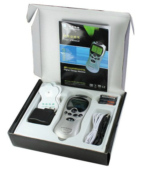 Digital Therapy Machine Electronic Pulse Massager Healthy Care