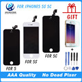 100 NO Dead Pixel Quality AAA For IPhone 5S LCD Display Touch Screen Digitizer Assembly Replacement
