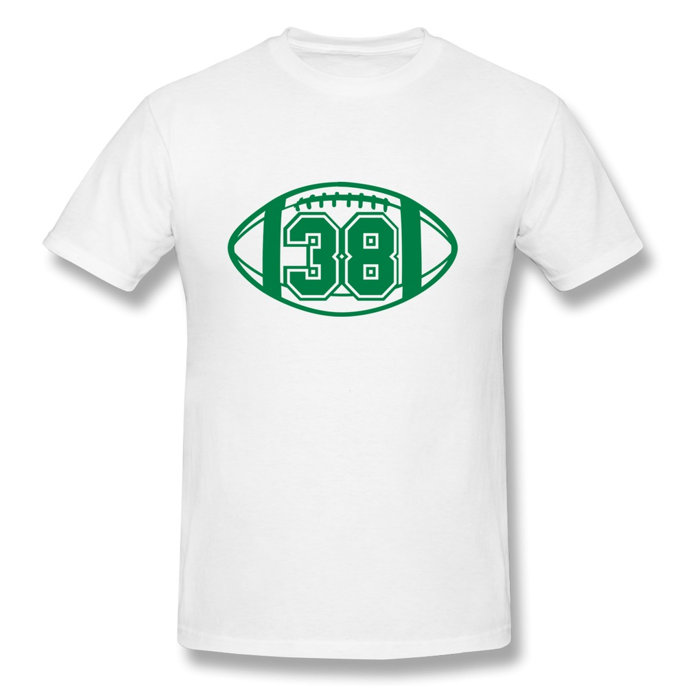 Custom solid men t shirt 38 football vector 1 color tas for One color t shirt