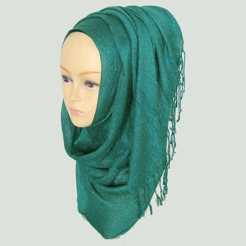 Glitter shimmer Shiny Party Wedding Formal Viscose Scarf Hijab Shawl Scarf, 50 colors for your choice,Free Shipping,PH014(China (Mainland))