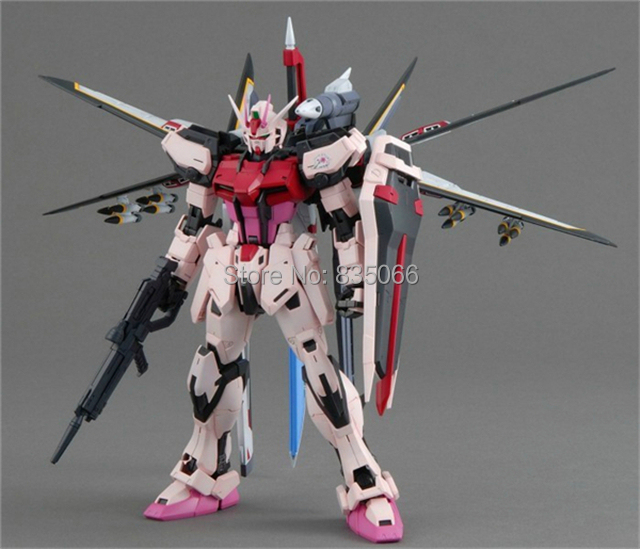 DABAN Japanese anime figures Master Grade Gundam 1/100 MG Strike robot action figure plastic model kits toys + Ver.RM - R,Y boutique Toy Store store