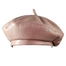 2018 г. модные женские туфли из искусственной кожи Восьмиугольные шапочки Newsboy кепки Винтаж капот берет стиль ретро кожа шляпа ковбой(China)
