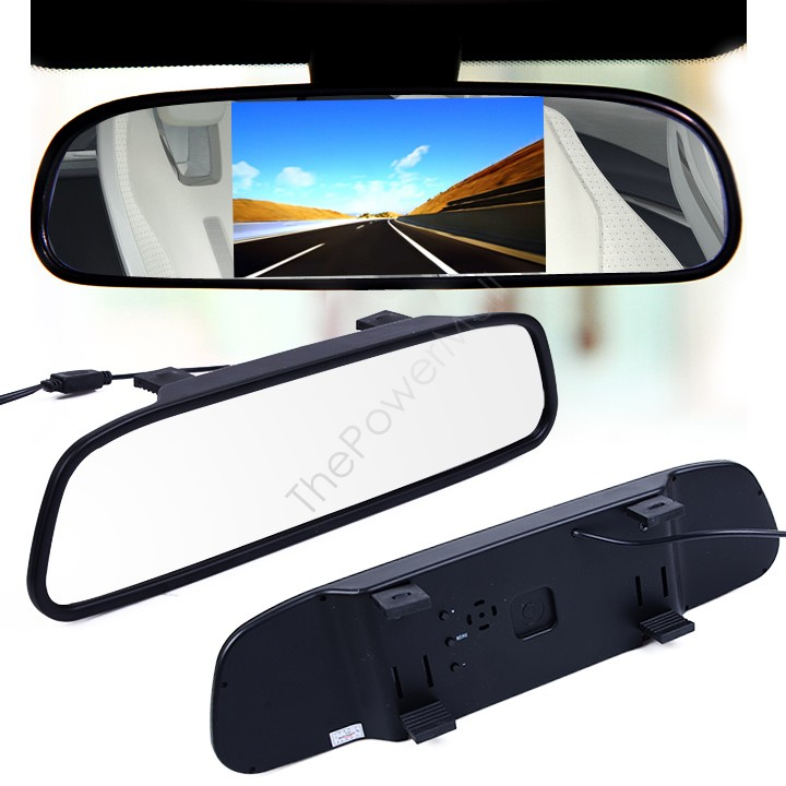 "Гаджет  Parking Monitor Mirror Monitor LCD Color Monitor 5"" HD 800 x 480 Reverse Camera Backup Camera Car Mirror Reverse SV16 14750 None Автомобили и Мотоциклы"