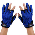 1 Pair Winter Anti Slip Friction Palm 3 Fingerless Fishing Gloves Anti skid Fingerless Fishing Gloves