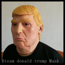 Buy Free Party Cosplay Famous USA Donald Trump Mask Latex Realistic Mask USA Property Tycoon Donald Trump Man Mask Toys for $15.80 in AliExpress store