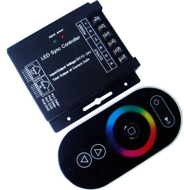 rf touch rgb led controller pwm dimmer(China (Mainland))