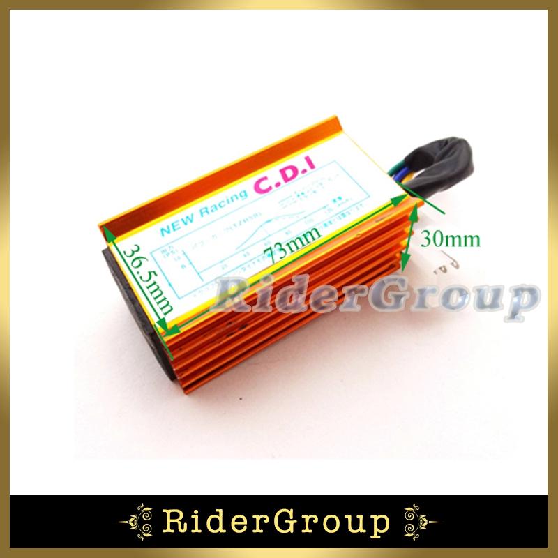 Racing Ignition AC CDI Box 5 Pin For 50cc 90cc 110cc 125cc Lifan Engine ATV Quad Pit Dirt Bike Motorcycle CRF50 XR50 KLX110(China (Mainland))