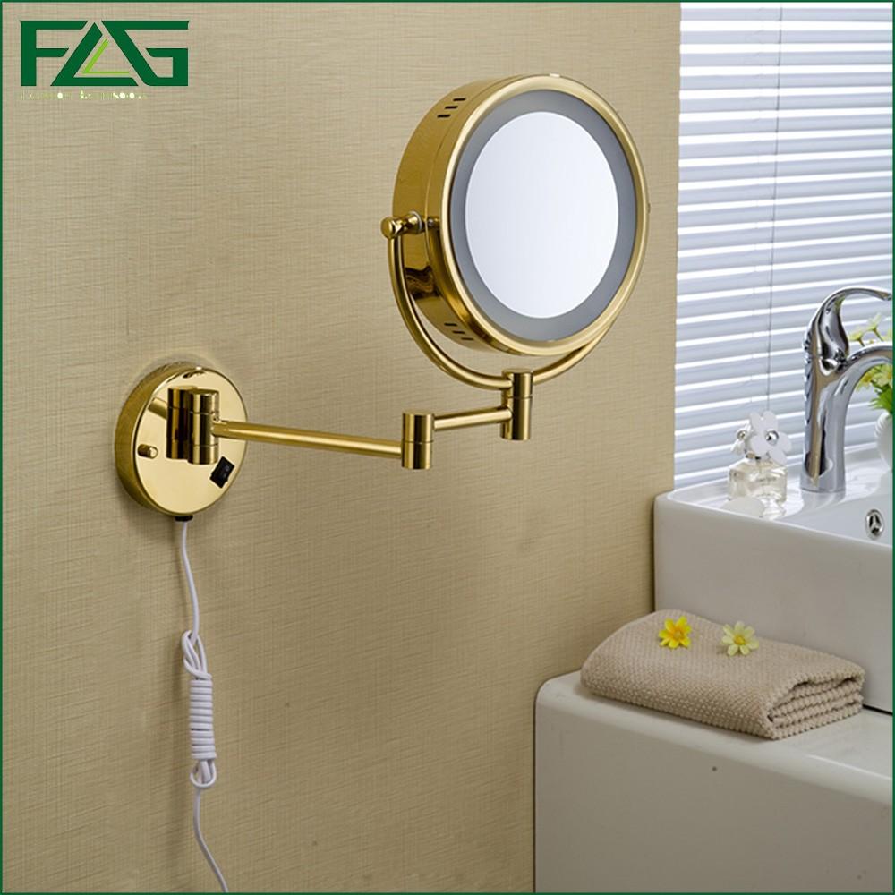 Bathroom mirror round