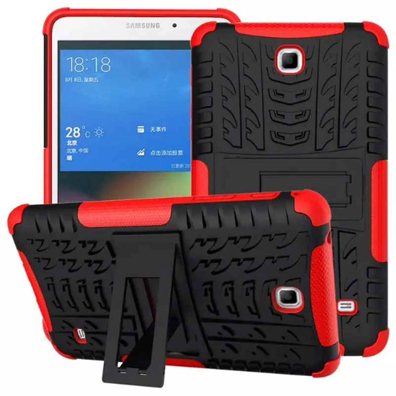 Hybrid Kickstand Case For Samsung Galaxy Tab 4 7.0 T230/T231/T235 TPU Shockproof Skip proof Rubberized PC Soft Handfeel<br><br>Aliexpress