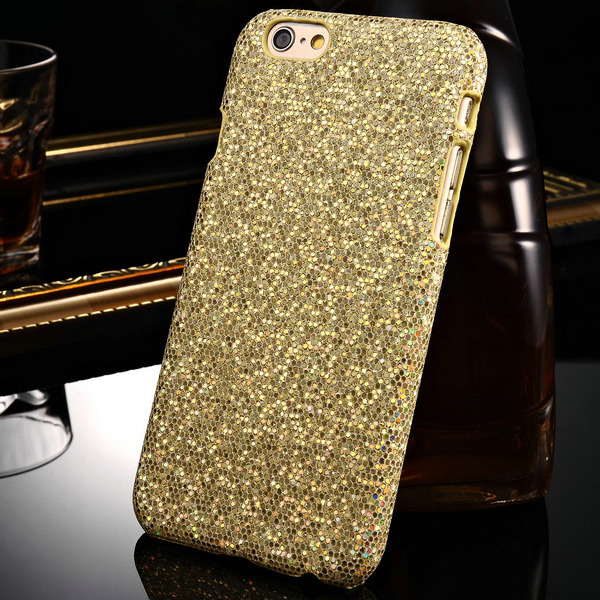 Luxury Bling Leather Hard Case iPhone 6 4.7 inch Inch Shining Glitter Diamond PC iPhone6 Back Cover - Tomkas Official Store store