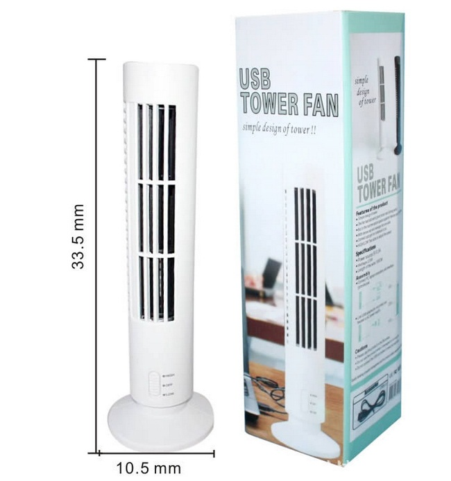 Novelty Desk USB Cooling Fan Air Purifier Mini Air Conditioner Tower Shape USB Mini Bladeless Fan(China (Mainland))