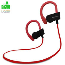 LQGK Bluetooth Earphone Wireless Stereo Headset with Mic MP3 support all smartphone Sport models earpiece(China (Mainland))