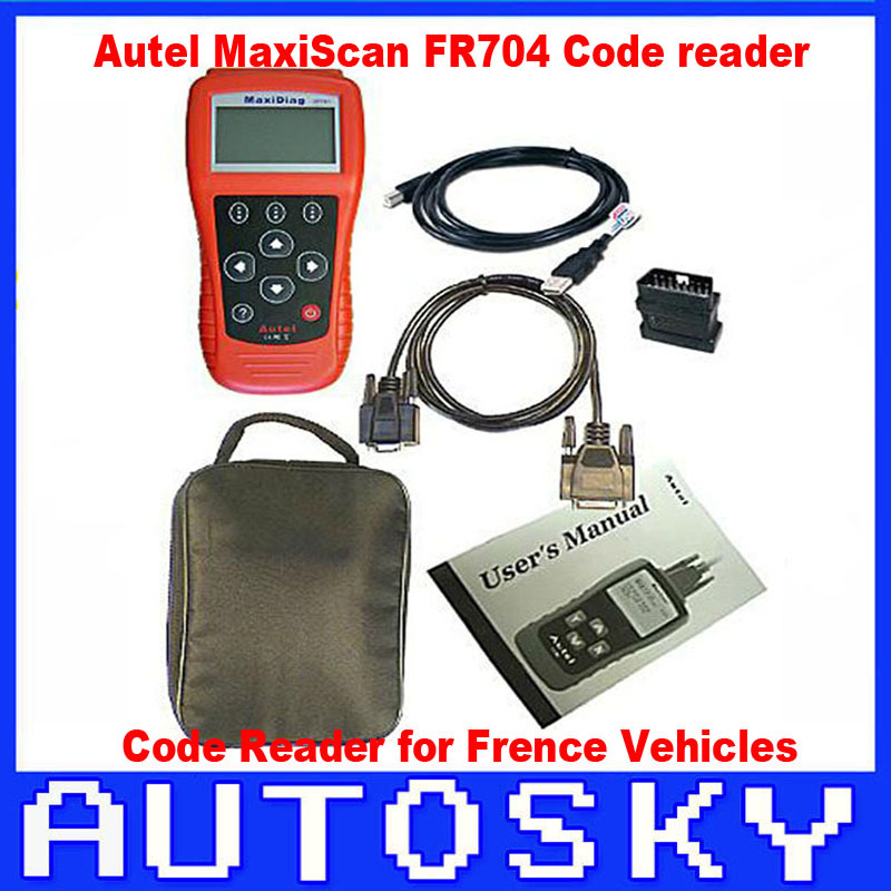 FR704 For Japanese Cars MaxiScan FR 704 code reader professional FR-704 Scan tool 3 year warranty(China (Mainland))