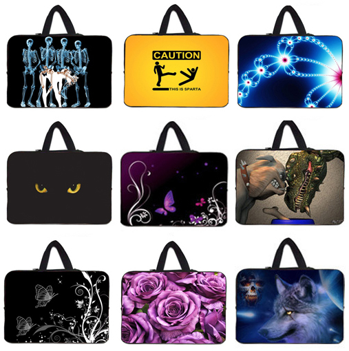Laptop Sleeve Bag Cover 10 10.1 11.6 12 12.1 13 13.3 15 15.4 15.6 17 17.3 17.4 inch Notebook Computer Accessories Neoprene Cases(China (Mainland))