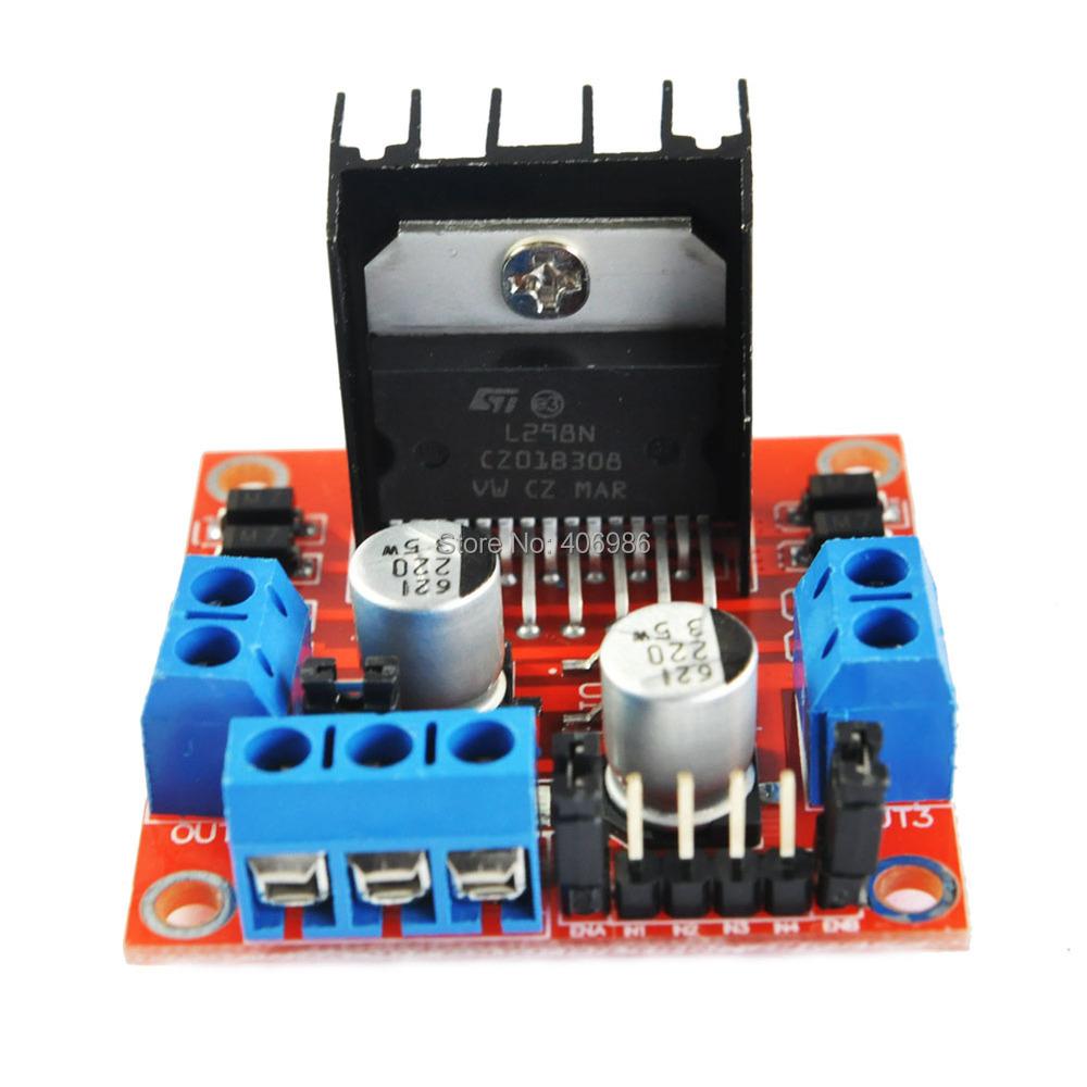 Гаджет  L298N Module Dual H Bridge Stepper Motor Driver Board Modules for Arduino  Smart Car FZ0407 Free Shipping   Dropshipping None Электронные компоненты и материалы