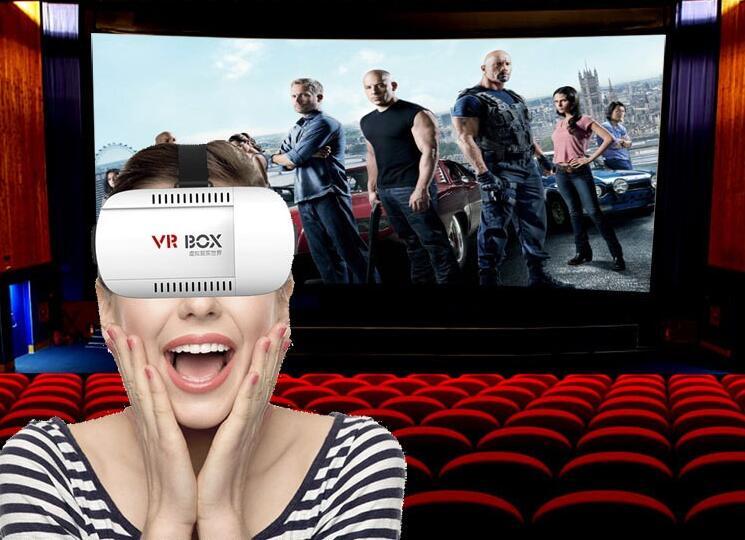New Google Cardboard Original Brand VR Box 2.0 Version Virtual Reality Oculus rift 3D Glasses for Game Movie 3.5-6.0 Smart Phone<br><br>Aliexpress