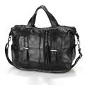 2016 Boston Fashion Tassel Fringe Tote Bags Ladies Sheepskin Single Shoulder Bag Large Capcity Women Genuine
