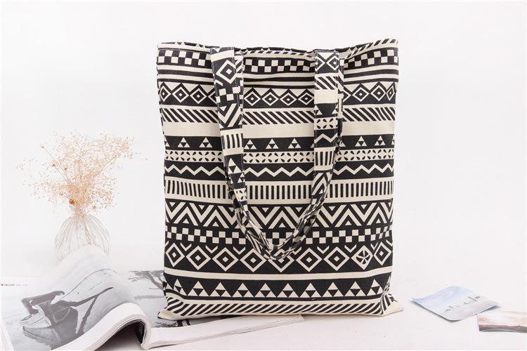 Handmade Cotton Cloth Hobo Handbag Shoulder Tote Bags for Women & Girl (7)