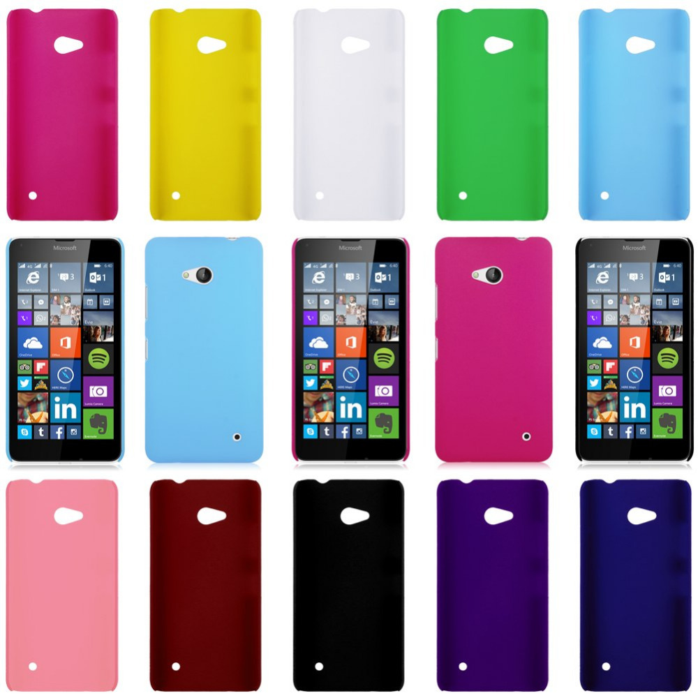 CellPhone Case For Nokia 640 Hard Plastic Matte Back Case Cover For Microsoft Nokia Lumia 640 N640 3-berna(China (Mainland))