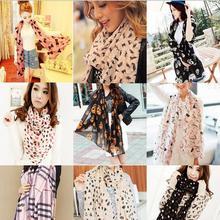 2015 Design Stylish Women Fashion Long Stole Soft all-match Chiffon Summer Scarf Shawl Wraps&Scarves Hot(China (Mainland))