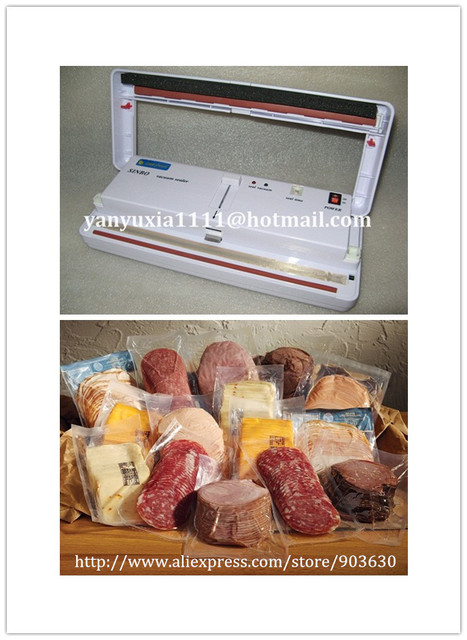 DHL/FEDEX shipping!Guaranteed 100% New 220V/110V SINBO DZ-280 household Portable Vacuum Sealer  Heat Sealing Machine