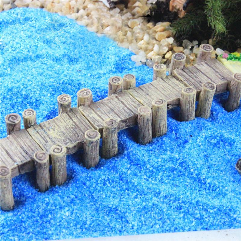 Buy water corridor harbour bridge for Diy miniature garden accessories