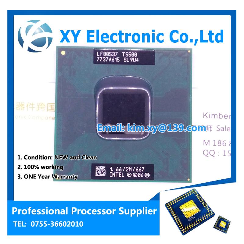 For in-tel CPU laptop Core 2 Duo T5500 CPU SL9U4 6M Socket 479 Cache/1.66GHz/667/Dual-Core Laptop processor support 945(China (Mainland))