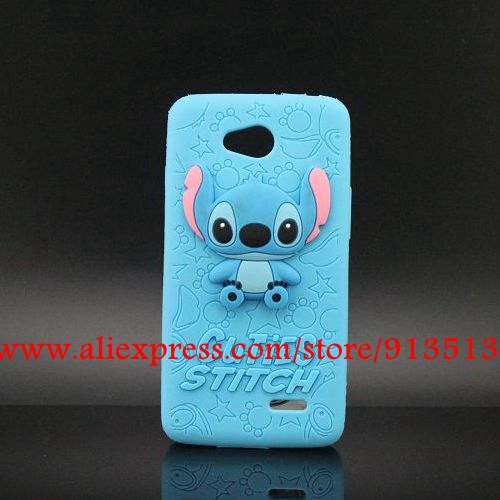 For LG L90 Case Cover Hot Selling Stitch 3D Silicone Phone Back Cases For LG Optimus L90 D410 D405 D415(China (Mainland))
