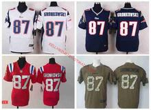100% Stitiched,New England Patriots Rob Gronkowski for mens women and youth.(China (Mainland))