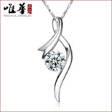 Tears Crystal pendant S925 sterling silver jewelry natural Brazilian amethyst ear drop type of Angels