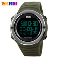 SKMEI New 2017 Countdown Sports Watches Men Fashion Digital Watch Mens Double Time Chronograph Military LED